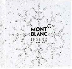 Духи, Парфюмерия, косметика Montblanc Legend Spirit - Набор (edt/100 ml + ash/balm/100 ml + sh/gel/100 ml)