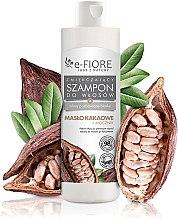 Духи, Парфюмерия, косметика Шампунь для волос с какао маслом и мочевиной - E-Fiore