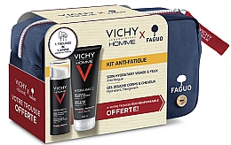 Духи, Парфюмерия, косметика Набор - Vichy Homme (sh/gel/200ml + cr/50ml + bag)