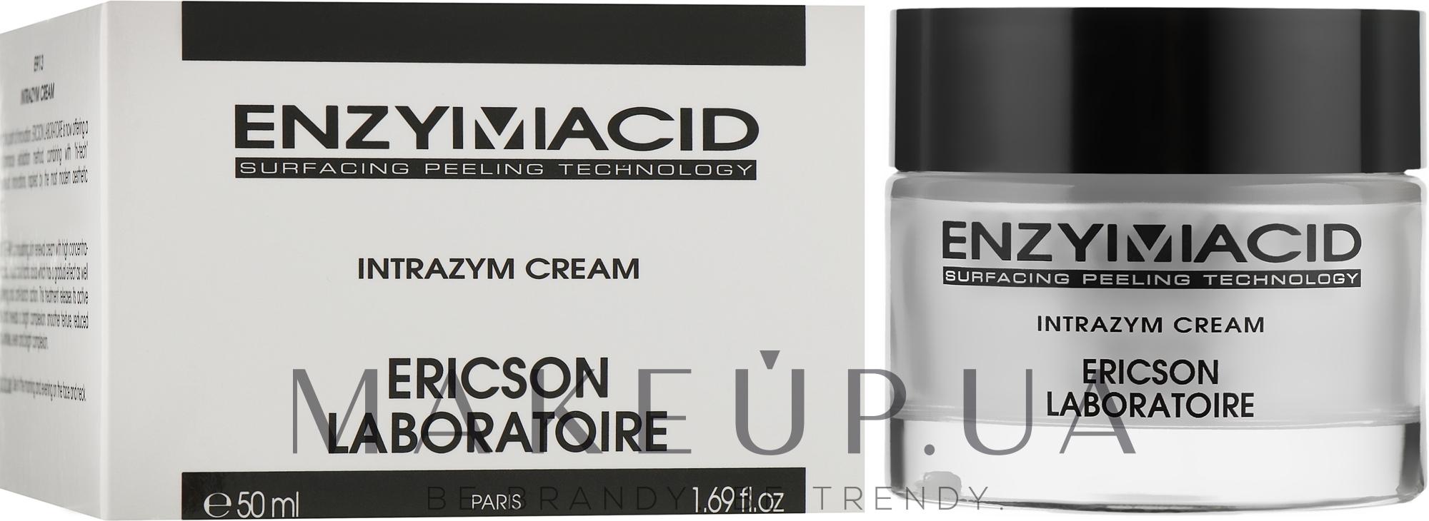 Відновлюючий поживний крем - Ericson Laboratoire Enzymacid Intrazym Cream — фото 50ml