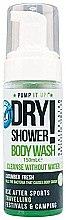 "Духи, Парфюмерия, косметика Пена для сухого мытья тела и рук ""Огурец"" - Pump It Up Dry Shower Body Wash Cucumber"