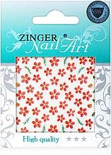 Духи, Парфюмерия, косметика Наклейки для дизайна ногтей, fda-193 - Zinger Nail Art Sticker