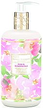 Духи, Парфюмерия, косметика Жидкое мыло для рук - Baylis & Harding Royale Bouquet Rose and Honeysuckle Hand Wash