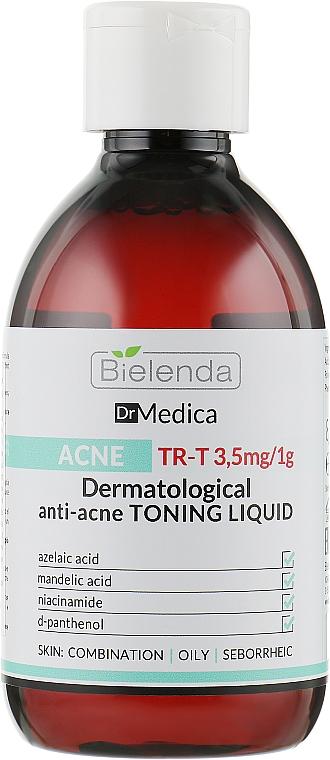 Дерматологический анти-акне тоник - Bielenda Dr Medica Acne Dermatological Anti-Acne Liquid Tonic