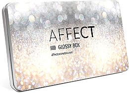 Духи, Парфюмерия, косметика Алюминиевая палетка для макияжа - Affect Cosmetics Glossy Box Mini Aluminium Palette