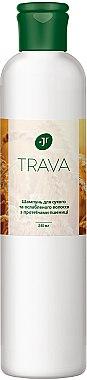 Шампунь для сухих и ослабленных волос с протеинами пшеницы - J'erelia Trava Hair Shampoo