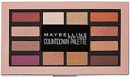 Духи, Парфюмерия, косметика Палетка теней для век - Maybelline New York Countdown Palette