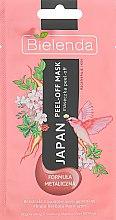 Духи, Парфюмерия, косметика Маска металлическая для восстановления и успокоения - Bielenda Japan Peel-off