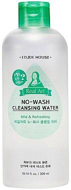 Мицеллярная вода с улиточным фильтратом - Etude House Real Art Nowash Cleansing Water — фото N1