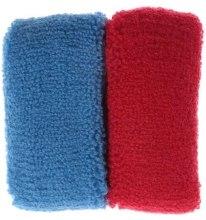 Духи, Парфюмерия, косметика Набор резинок для волос, 7583, 2шт, красная + синяя - Reed