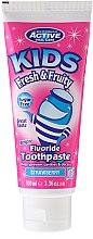 Духи, Парфюмерия, косметика Детская зубная паста без сахара с ароматом клубники - Beauty Formulas Active Oral Care