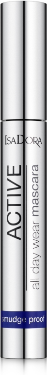 Тушь для ресниц - IsaDora Active All Day Wear Mascara