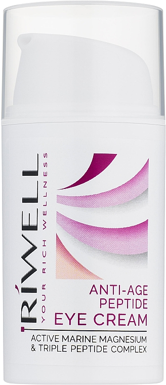 "Крем для век ""Антивозрастной"" - Riwell Anti-Age Peptide Eye Cream — фото N1"