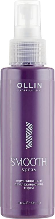 Термозащитный разглаживающий спрей - Ollin Professional Curl & Smooth Hair Smooth Spray