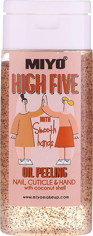 Скраб для рук и ногтей с кокосовым маслом - Miyo High Five Oil Peeling