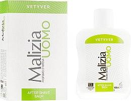 Бальзам после бритья - Malizia Vetyver Uomo — фото N1