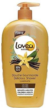 """Гель для душа """"Ваниль"""" - Lovea Delicious Shower Vanille"""