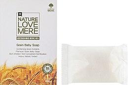 Духи, Парфюмерия, косметика Детское мыло с экстрактом зерновых - Nature Love Mere