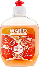 "Духи, Парфюмерия, косметика Жидкое крем-мыло ""Грейпфрут"" - Mario (пушпул)"