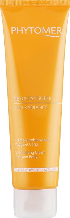 Крем автозагар - Phytomer Sun Radiance Self-Tanning Cream Face and Body