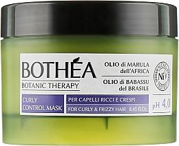Духи, Парфюмерия, косметика Маска для вьющихся волос - Bothea Botanic Therapy Curly Control Mask pH 4.0