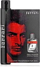 Духи, Парфюмерия, косметика Ferrari Red Power - Туалетная вода (пробник)