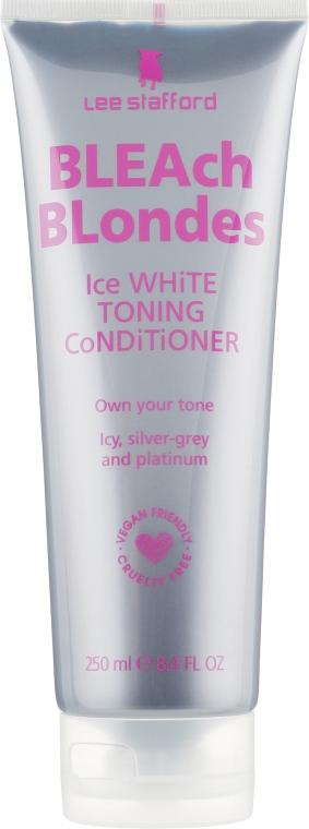 Кондиционер от желтизны осветленных волос - Lee Stafford Bleach Blondes Ice White Conditioner