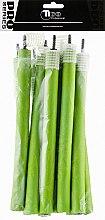 Духи, Парфюмерия, косметика Бигуди гибкие, 180мм, d14, зеленые - Tico Professional