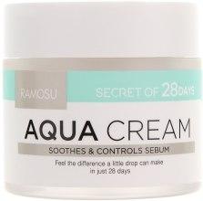 Духи, Парфюмерия, косметика Увлажняющий, успокаивающий себорегулирующий крем - Ramosu Aqua Cream