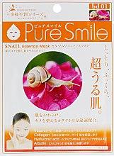 Духи, Парфюмерия, косметика Тканевая маска для лица с муцином улитки - Pure Smile Essence Mask Snail