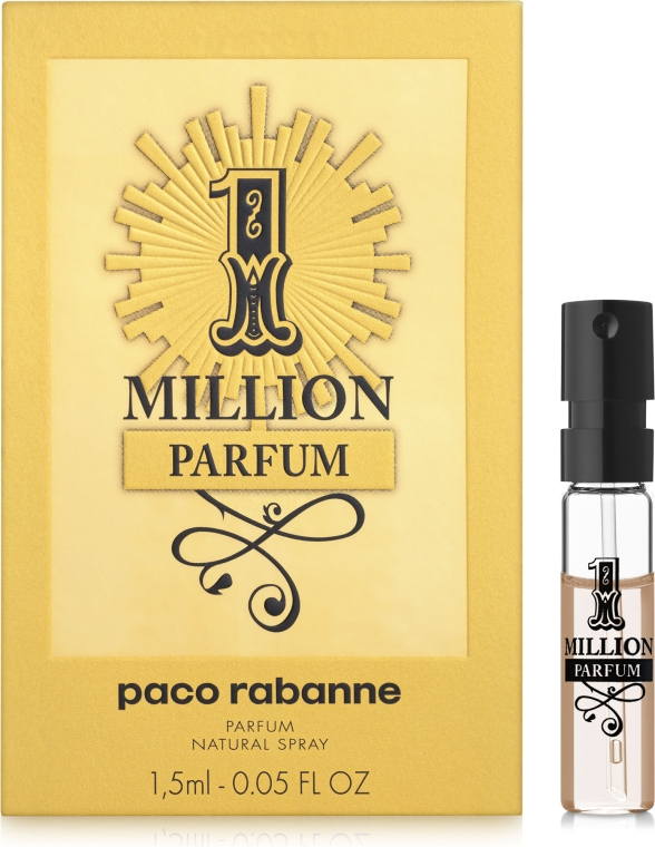 Paco Rabanne 1 Million Parfum - Парфюмированная вода (пробник)