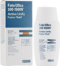 Духи, Парфюмерия, косметика Флюид для лица - Isdin Foto Ultra 100 Active Unify SPF 50+