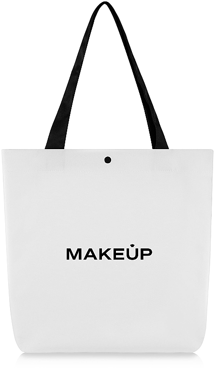 "Сумка-шоппер белая ""Easy Go"" - Makeup"
