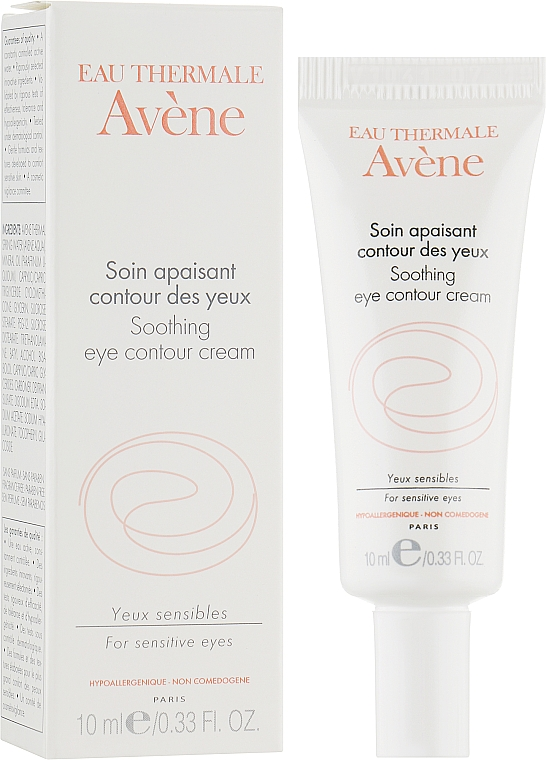 Успокаивающий крем для контура глаз - Avene Soins Essentiels Soothing Eye Contour Cream