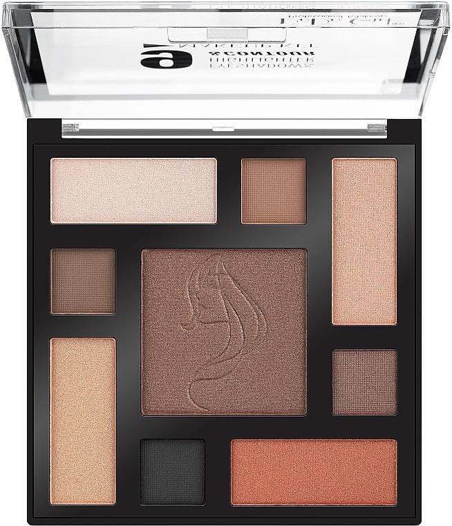 Палетка для макияжа - DoDo Girl Eyeshadow & Highlighter & Contour Make Up Kit