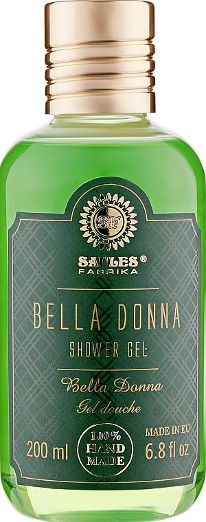 "Гель для душа ""Белла Донна"" - Saules Fabrika Shower Gel"