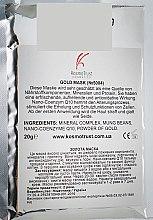 Духи, Парфюмерия, косметика Золотая маска с коэнзимом Q10 и бобами мунг - KosmoTrust Cosmetics Gold Mask