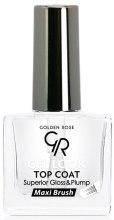Духи, Парфюмерия, косметика Верхнее покрытие для лака - Golden Rose Gel Look Top Coat