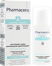 Духи, Парфюмерия, косметика Крем для лица против морщин - Pharmaceris A Sensi-Relastine-E Tightening and Firming Peptide Cream SPF20