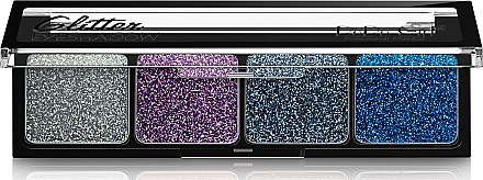 Глиттерные тени - DoDo Girl 4 Colors Glitter Eyeshadow — фото N1