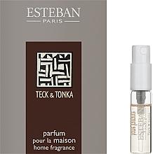 Духи, Парфюмерия, косметика Парфюмированный аромат для дома - Esteban Teck&Tonka Home Fragrance (пробник)