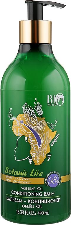 """Бальзам-кондиционер """"Ревень, черный кунжут"""" - Bio World Botanica Conditioner"""