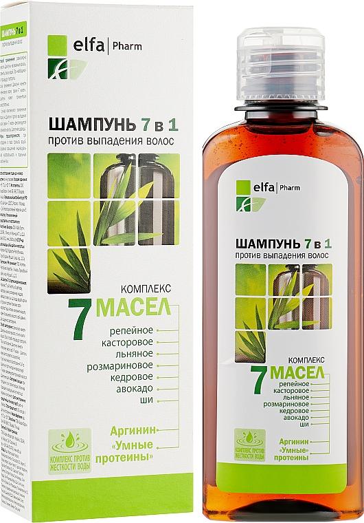 Шампунь против выпадения волос - Эльфа 7 Масел