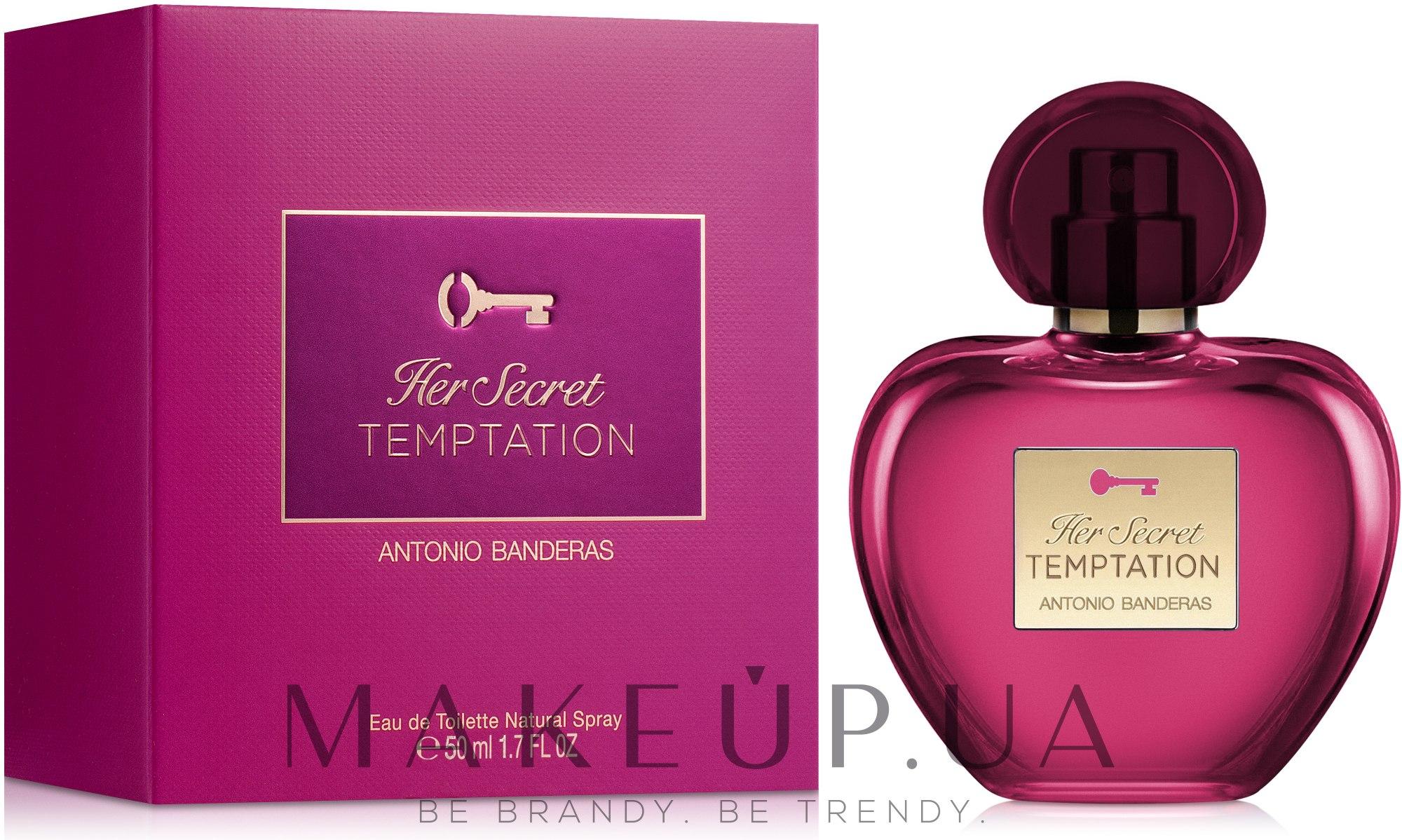 Antonio Banderas Her Secret Temptation - Туалетная вода — фото 50ml