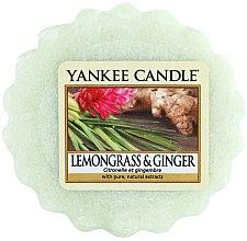 Духи, Парфюмерия, косметика Ароматический воск - Yankee Candle Lemongrass & Ginger Tarts Wax Melts