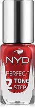 Духи, Парфюмерия, косметика УЦЕНКА Лак для ногтей - NYD Professional Perfect Tone 2 Step Nail Lacquer *
