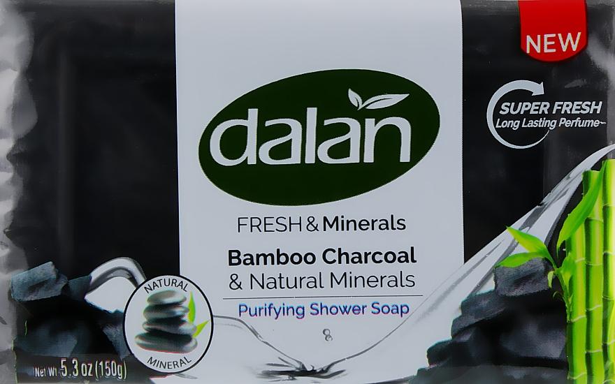 """Мыло для душа """"Свежесть и минералы"""" - Dalan Fresh & Minerals Bamboo Charcoal & Natural Minerals"""