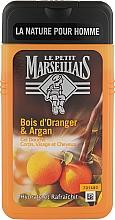 Духи, Парфюмерия, косметика Гель-шампунь для мужчин «Апельсиновое дерево и Аргана» - Le Petit Marseillais