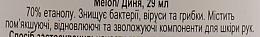 """Антисептик для рук """"Дыня"""" - Sanitizer — фото N3"""