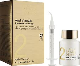 Духи, Парфюмерия, косметика Крем против морщин для контура губ - Labo Transdermic 2 Anti-Wrinkle Lip Contour Anti-Wrinkle Cream
